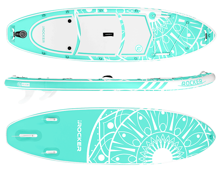 irocker all-around-10' sup board review