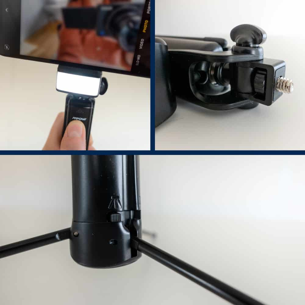 A closer look to some of the features that elevate the quality of the Mpow Selfie Stick