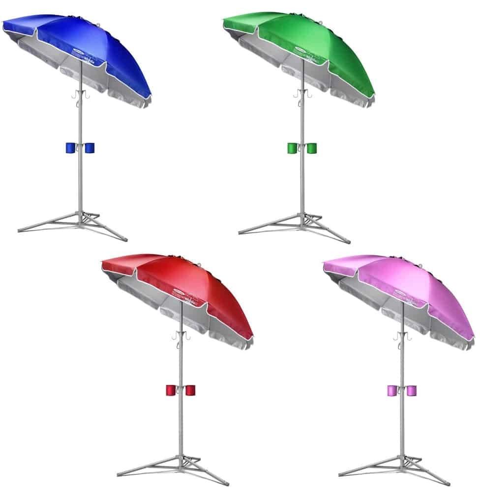umbrella shade in different colors